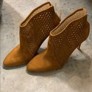 Zara bootie heels